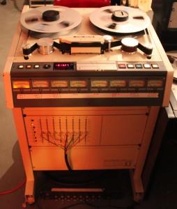 Otari MX70 our most beloved multitrack machine